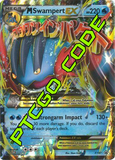 M Swampert EX Premium Collection - Promos - PTCGO Code