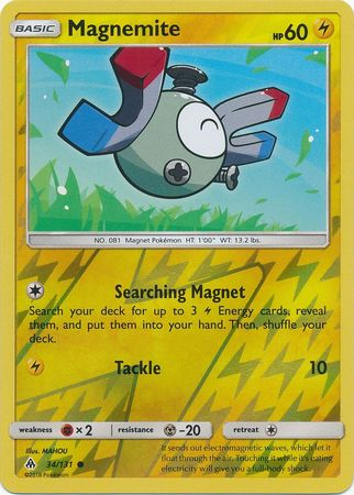 Magnemite - 34/131 - Forbidden Light - Reverse Holo - Card Cavern