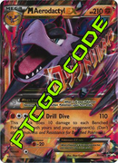 M Aerodactyl EX Premium Collection - Promos - PTCGO Code - Card Cavern