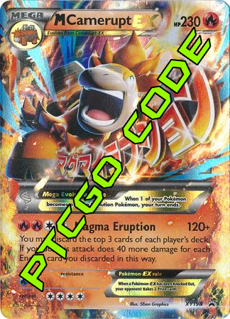 M Camerupt EX Premium Collection - Promos - PTCGO Code - Card Cavern