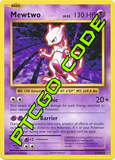 Mewtwo Mayhem Theme Deck - XY Evolutions - PTCGO Code
