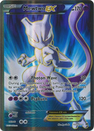 Mewtwo EX Full Art - 157/162 - BREAKthrough - Card Cavern