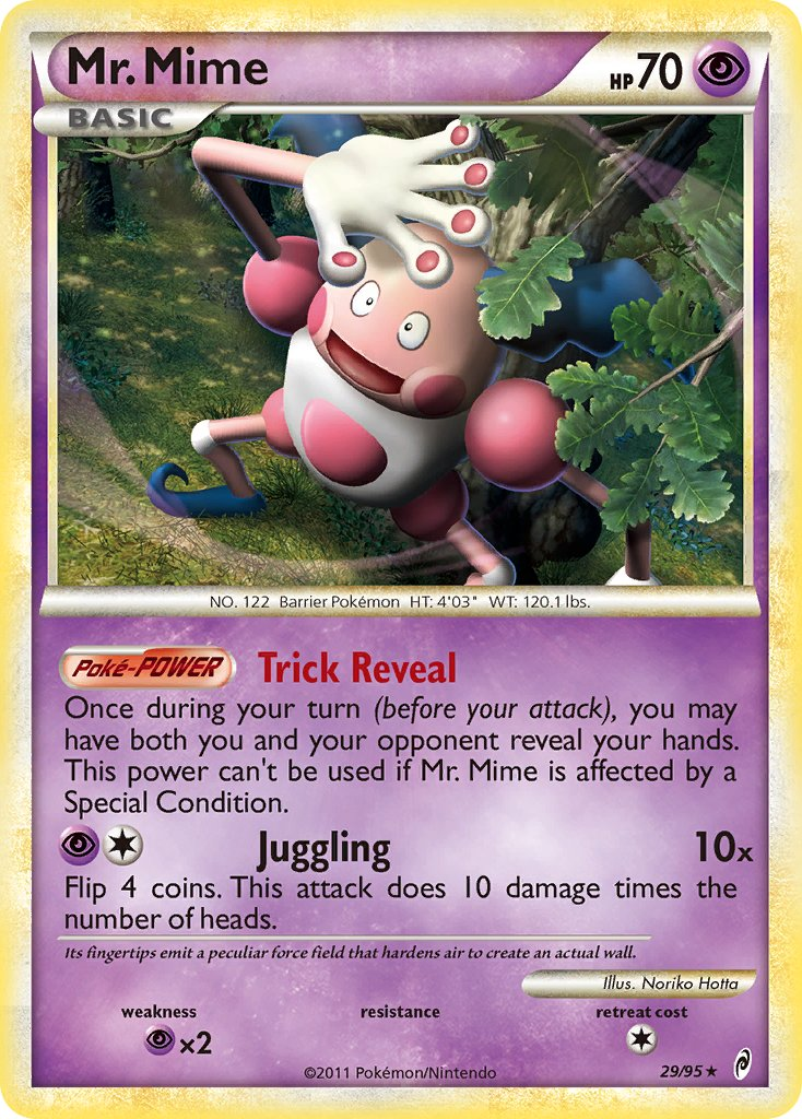 Mr. Mime - 29/95 - Call of Legends - Card Cavern