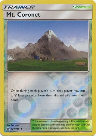 Mt. Coronet - 130/156 - Ultra Prism - Reverse Holo - Card Cavern