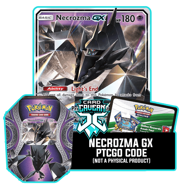 Mysterious Powers Tin: Necrozma GX - Dark Prism Deck - PTCGO Code - Card Cavern