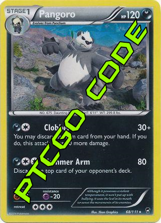 Dark Hammer Theme Deck - Furious Fists - PTCGO Code - Card Cavern
