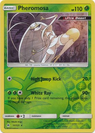 Pheromosa - 11/131 - Forbidden Light - Reverse Holo - Card Cavern