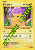 Pikachu Power Theme Deck - XY Evolutions - PTCGO Code