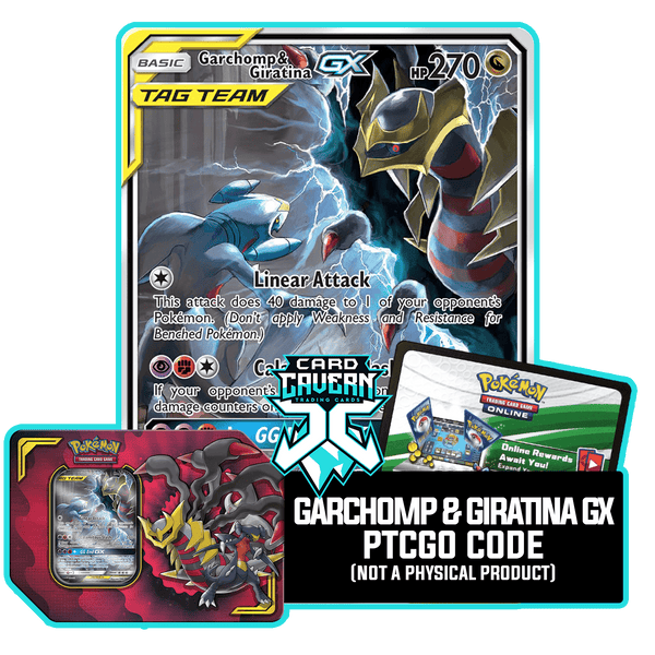 Power Partnership Tin: Garchomp & Giratina GX - PTCGO Code - Card Cavern