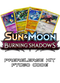 Burning Shadows Prerelease Kit - 1 of 4 promos - PTCGO Code - Card Cavern