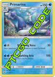 Bright Tide Theme Deck - Sun and Moon - PTCGO Code
