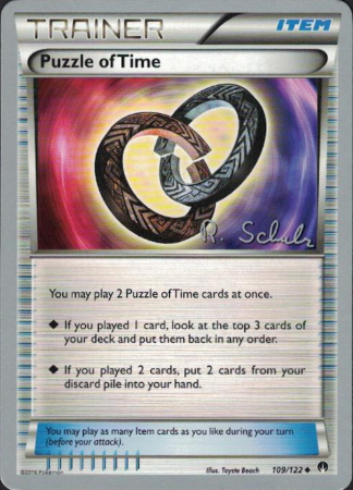 Puzzle of Time - 109/122 - 2018 World Championship - Card Cavern