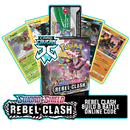 Rebel Clash Prerelease Kit - 1 of 4 promos - PTCGO Code - Card Cavern