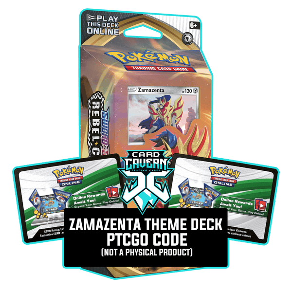 Zamazenta Theme Deck - Rebel Clash - PTCGO Code - Card Cavern
