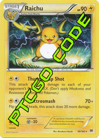 Burning Spark Theme Deck - XY BREAKthrough - PTCGO Code