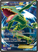 Rayquaza EX Full Art - 104/108 - Roaring Skies - Card Cavern