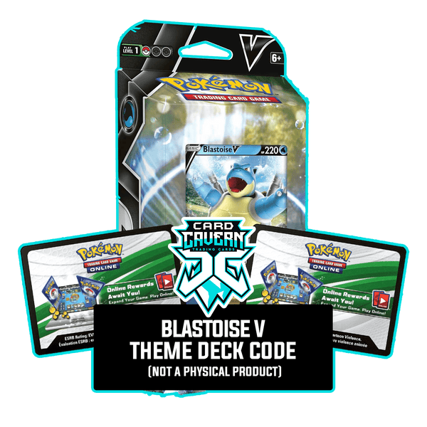 Blastoise V Battle Deck - PTCGO Code - Card Cavern