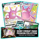 Shiny Crobat VMax Premium Collection PTCGO Code - Card Cavern