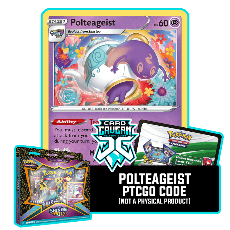 Mad Party Collection - Polteageist SWSH081 - PTCGO Code - Card Cavern
