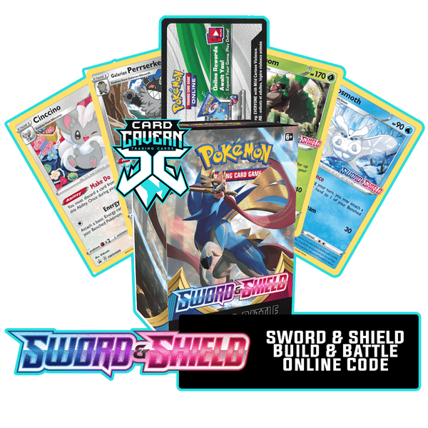 Sword & Shield Prerelease Kit - 1 of 4 promos - PTCGO Code - Card Cavern