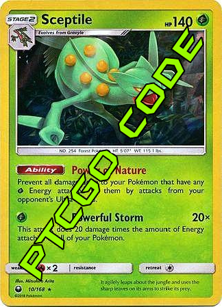 Leaf Charge Theme Deck - Celestial Storm - PTCGO Code - Card Cavern