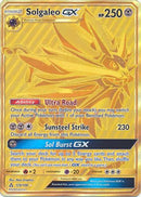 Solgaleo GX Gold Secret - 173/156 - Ultra Prism - Card Cavern