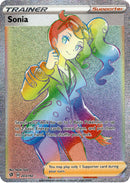 Sonia Hyper Rare - 203/192 - Rebel Clash - Card Cavern