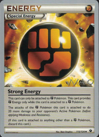Strong Energy - 115/124 - 2018 World Championship - Card Cavern
