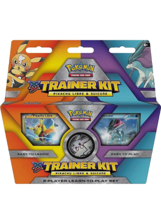 XY Trainer Kit Pikachu Libre & Suicune - Swift Current Deck - PTCGO Code - Card Cavern