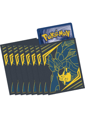 Team Up ETB - Zekrom & Pikachu - Sleeves and Deck Box PTCGO Code - Card Cavern