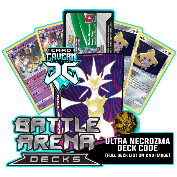 Battle Arena Decks: Ultra Necrozma GX PTCGO Code - Card Cavern