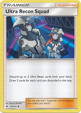 Ultra Recon Squad - 114/131 - Forbidden Light - Card Cavern