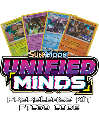 Unified Minds Prerelease Kit - 1 of 4 promos - PTCGO Code