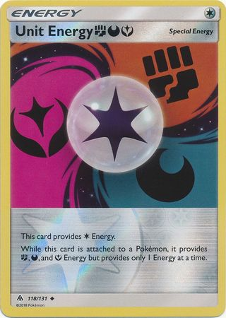 Unit Energy FDY - 118/131 - Forbidden Light - Reverse Holo - Card Cavern
