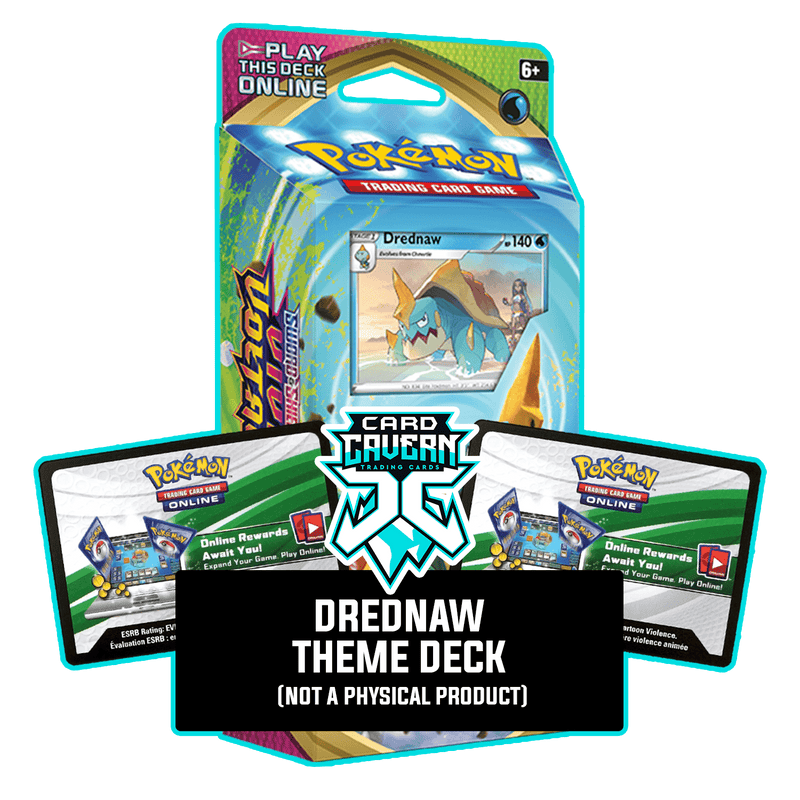 Drednaw Theme Deck - Vivid Voltage - PTCGO Code - Card Cavern