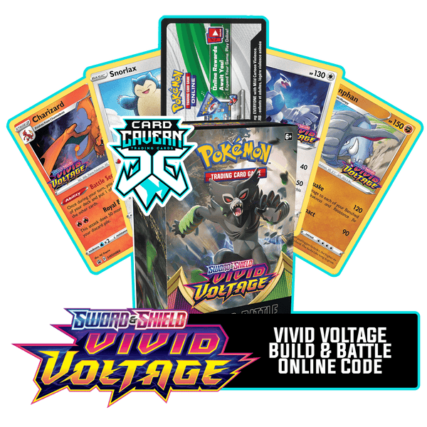 Vivid Voltage Prerelease Kit - 1 of 4 promos - PTCGO Code - Card Cavern