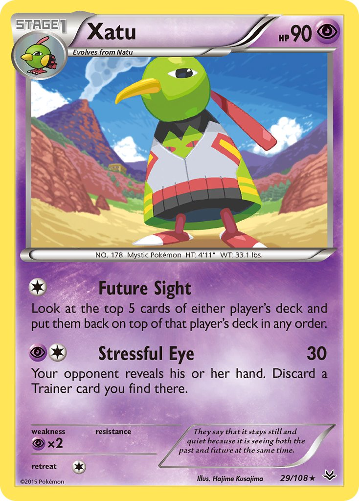 Xatu - 29/108 - Roaring Skies - Card Cavern