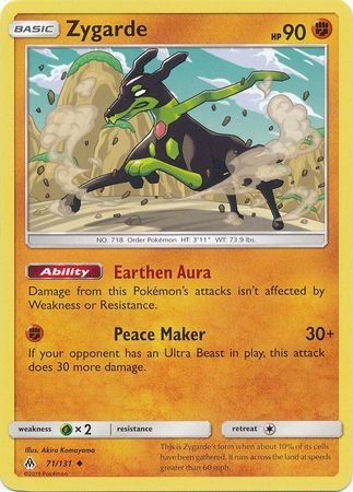 Zygarde - 71/131 - Forbidden Light - Card Cavern