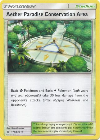 Aether Paradise Conservation Area - 116/145 - Guardians Rising - Card Cavern