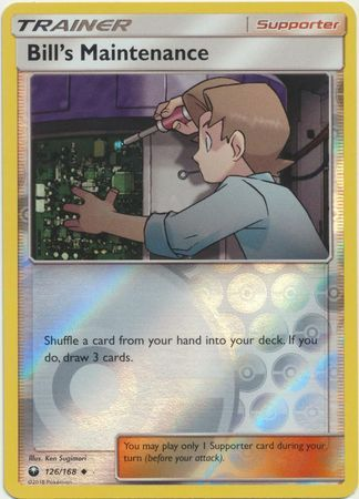 Bill's Maintenance - 126/168 - Celestial Storm - Reverse Holo - Card Cavern