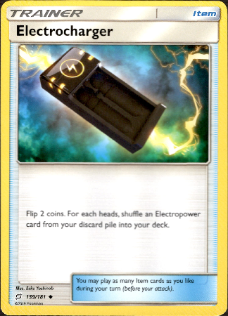 Electrocharger - 139/181 - Team Up - Card Cavern