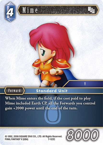 Mime - 7-122C - Opus VII - Card Cavern