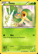 Snivy - 5/124 - Fates Collide - Card Cavern