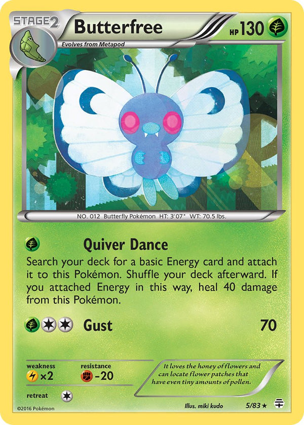 Butterfree - 5/83 - Generations - Holo - Card Cavern