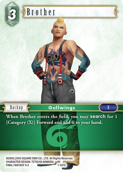 Brother - 1-197S - Opus I - Card Cavern