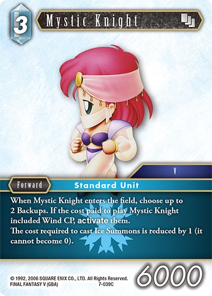 Mystic Knight - 7-039C - Opus VII - Card Cavern