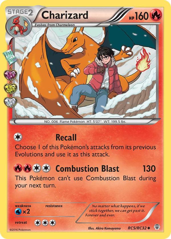 Charizard - RC5/RC32 - Generations: Radiant Collection - Holo - Card Cavern