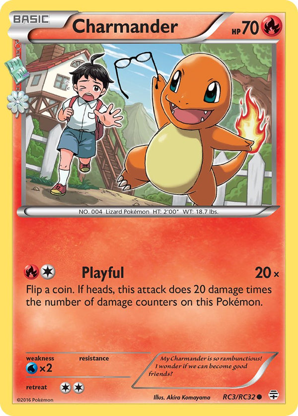 Charmander - RC3/RC32 - Generations: Radiant Collection - Card Cavern