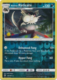 Alolan Raticate - 82/147 - Burning Shadows - Reverse Holo
