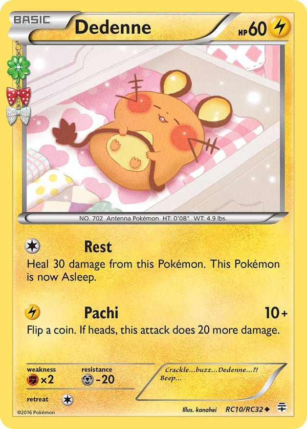 Dedenne - RC10/RC32 - Generations: Radiant Collection - Holo - Card Cavern